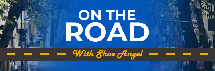On The Road With Shoe Angel Image